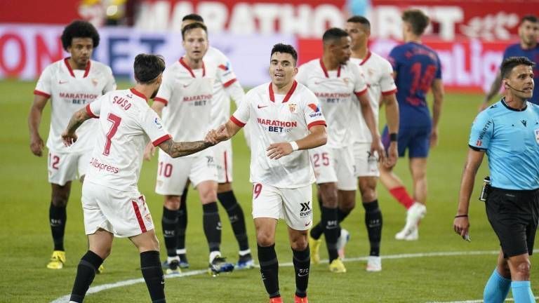 Respira el Atlético de Madrid: Jan Oblak atajó penal contra Sevilla