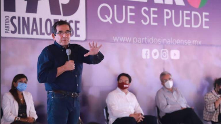 Nosotros vamos a apoyar a Morena sin esperar nada a cambio': Cuén Ojeda